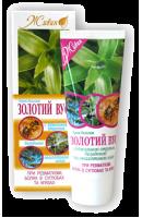 Крем-бальзам ЗОЛОТОЙ УС с пчелиным ядом, босвеллией, маслом эвкалипта